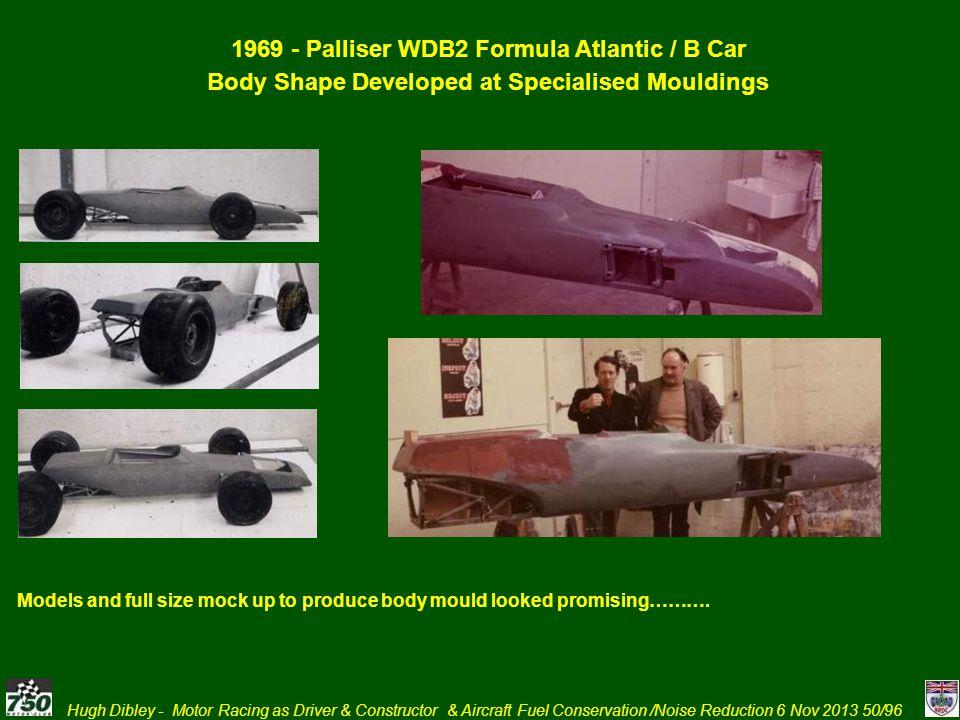 1969 - Palliser WDB2 Formula Atlantic / B Car