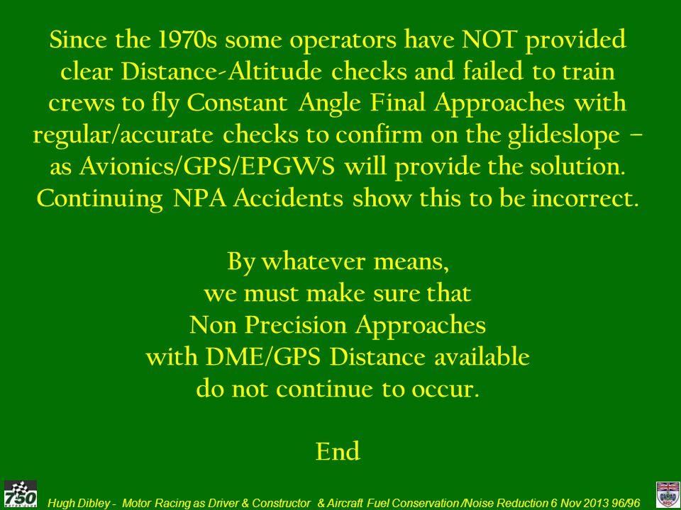 as Avionics/GPS/EPGWS will provide the solution.