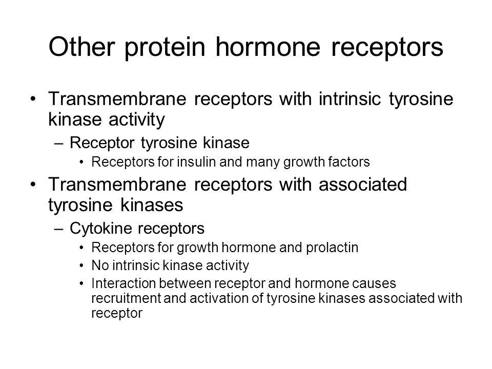 Other protein hormone receptors