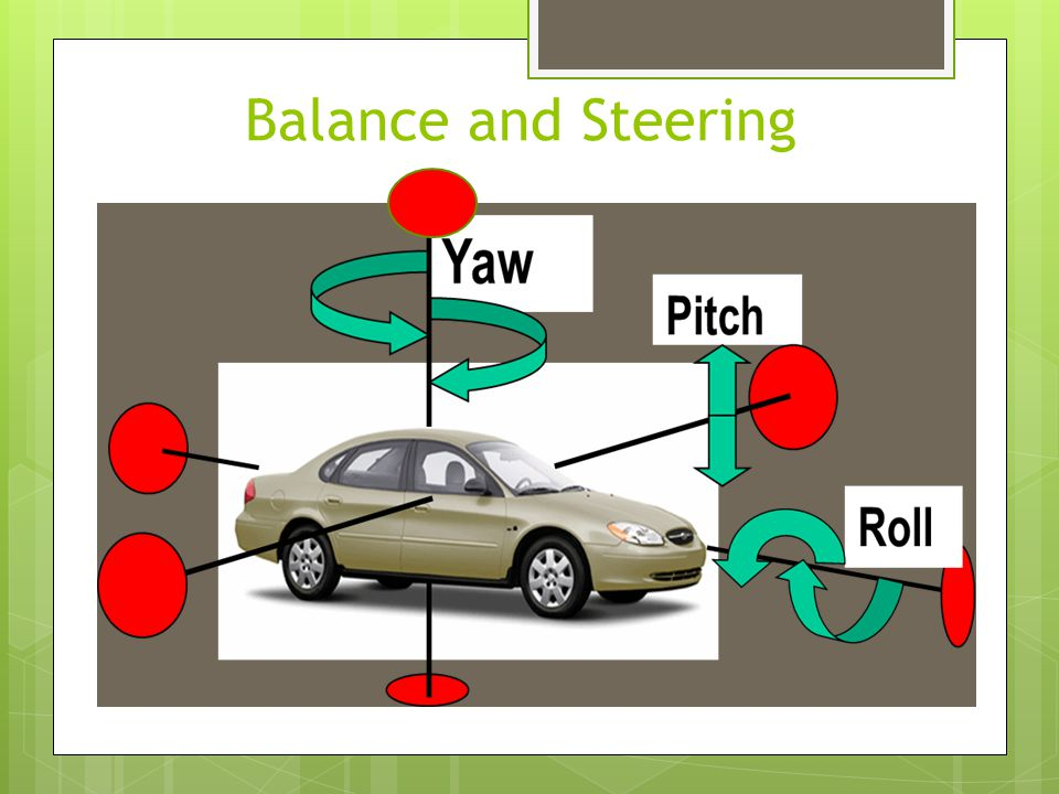 Balance and Steering