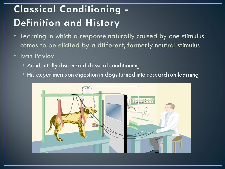 Classical Conditioning - Definition and History