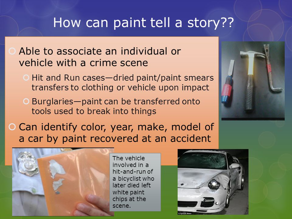 How can paint tell a story