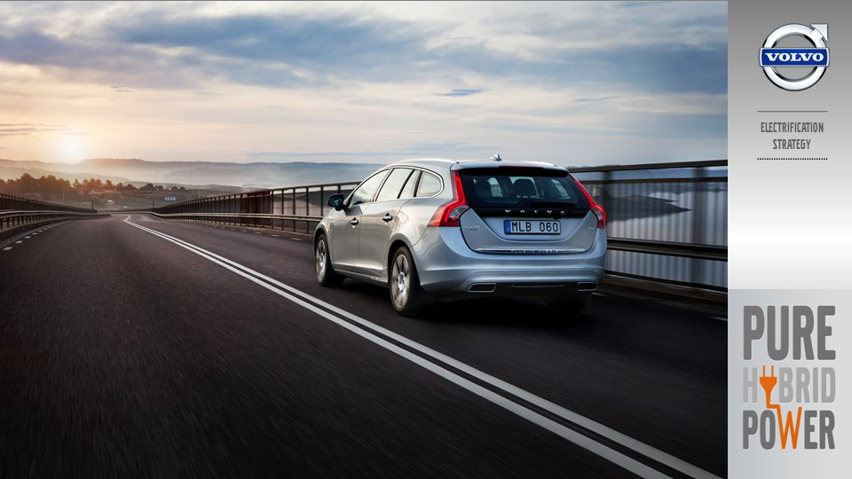 V60 PLUG-IN HYBRID PURE HYBRID POWER