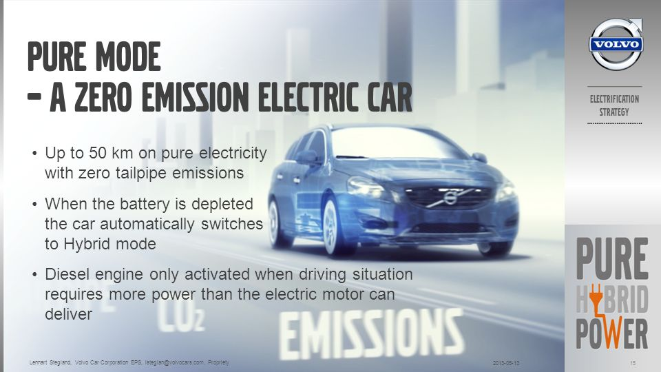 Pure Mode – A zero emission electric car