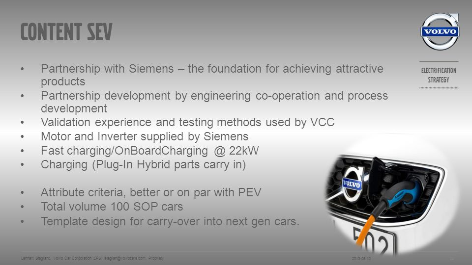 Content sev Partnership with Siemens – the foundation for achieving attractive products.