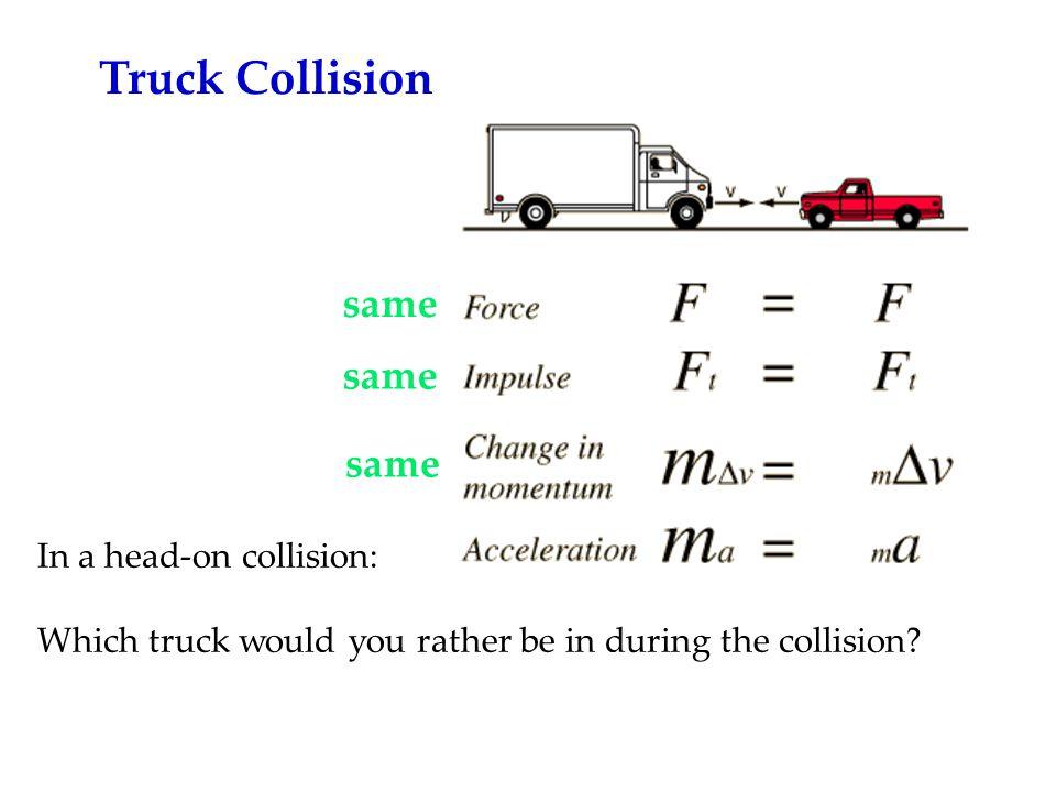 Truck Collision same same same