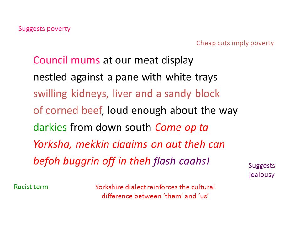 Council mums at our meat display