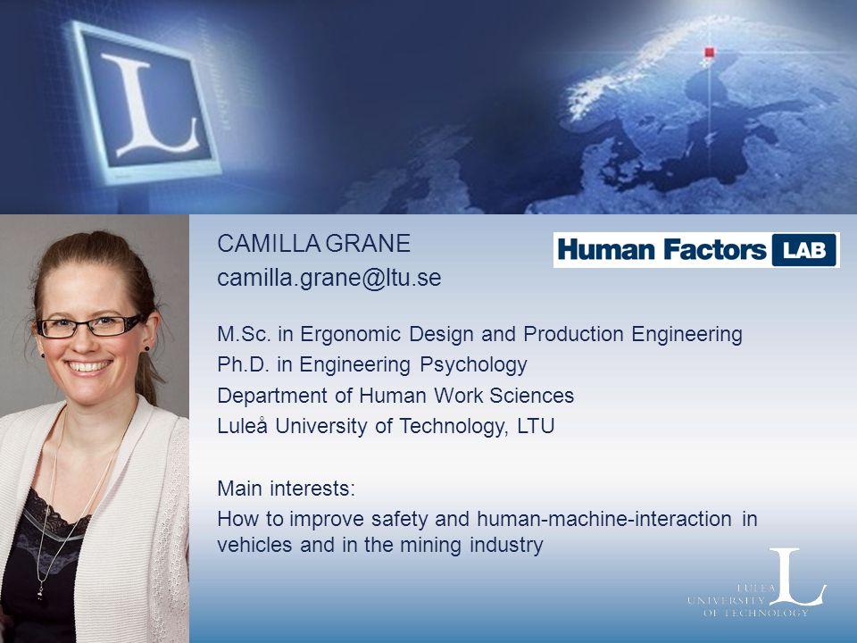 Camilla Grane CAMILLA GRANE