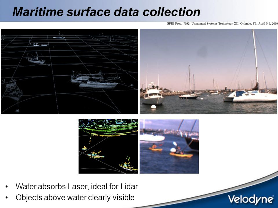 Maritime surface data collection