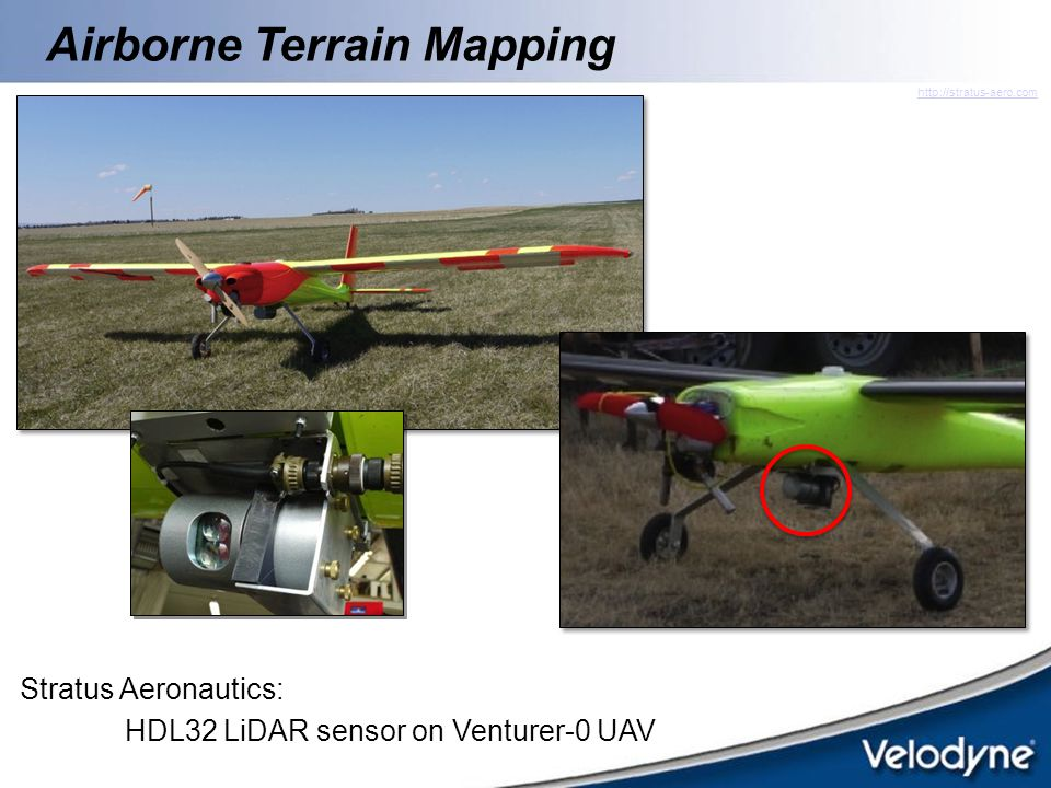 Airborne Terrain Mapping