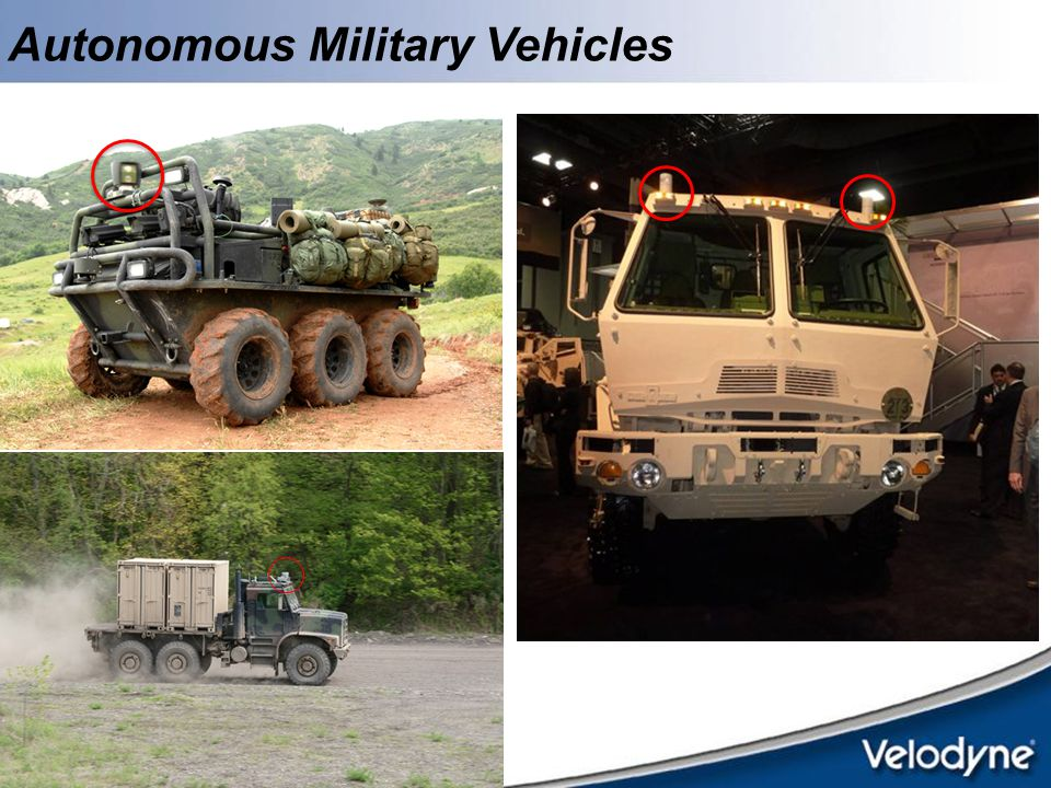 Autonomous Military Vehicles