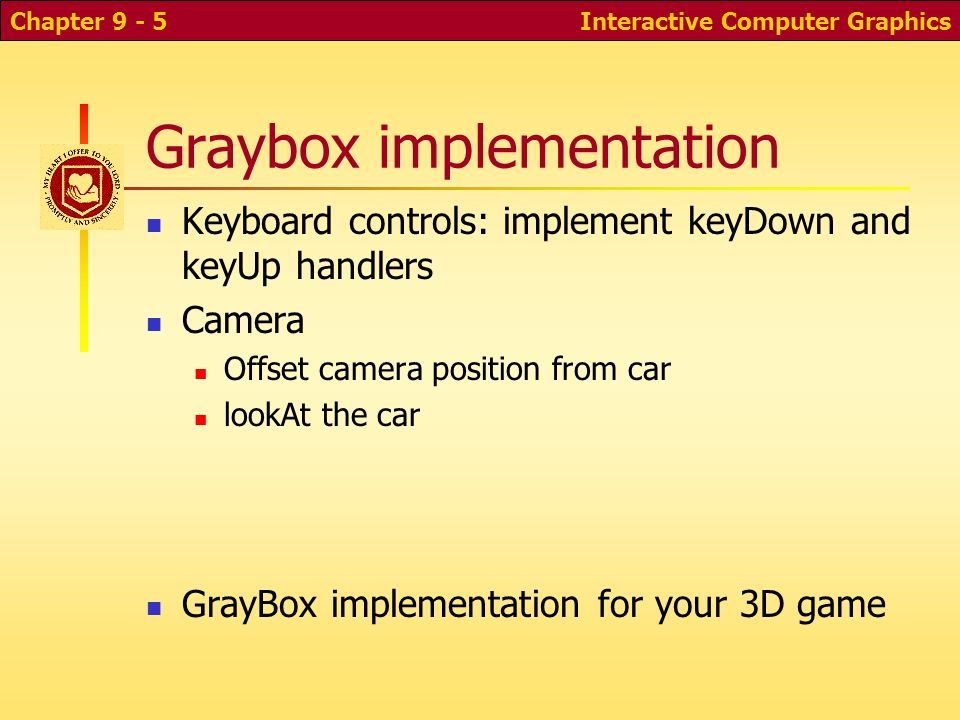 Graybox implementation