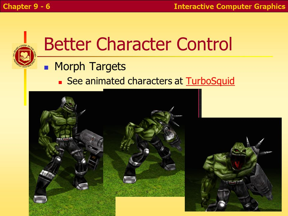 Better Character Control