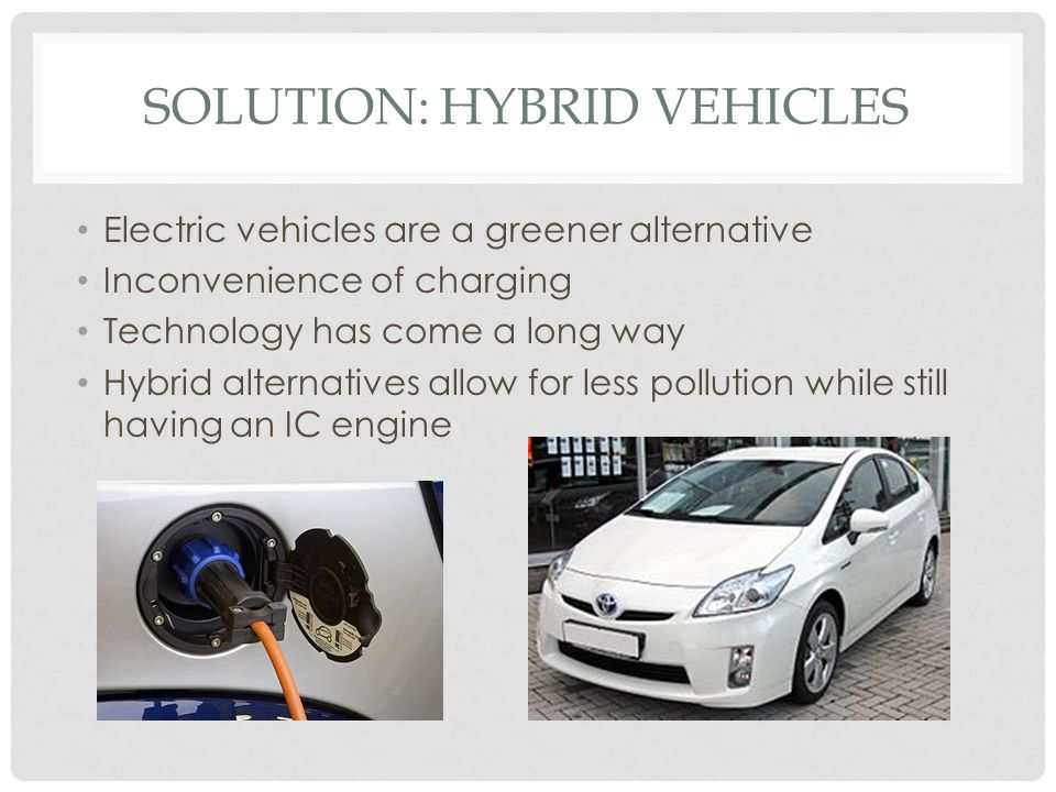 Solution: Hybrid Vehicles
