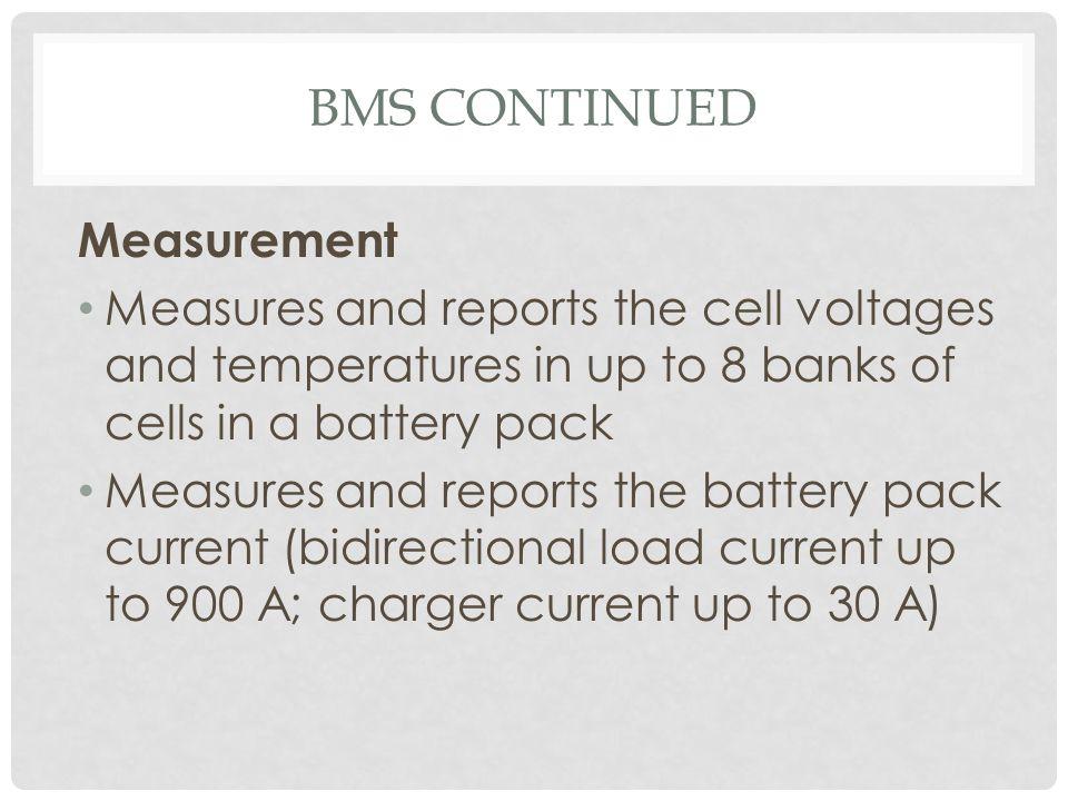 BMS Continued Measurement