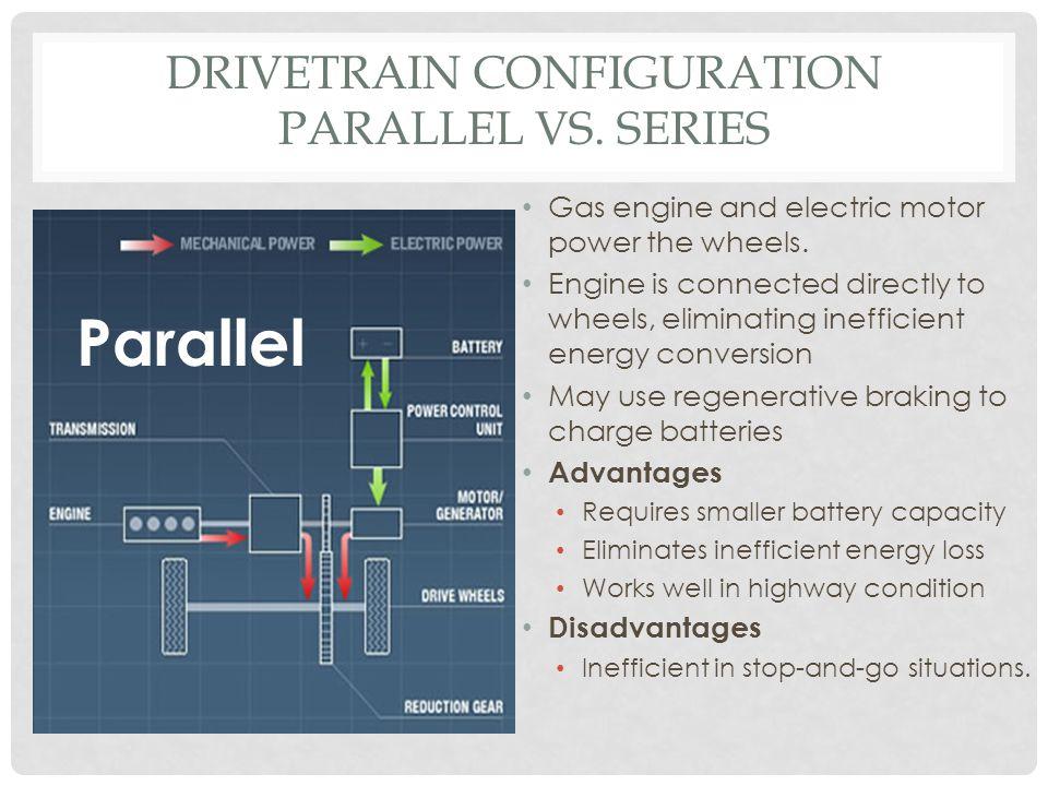 Drivetrain Configuration Parallel vs. Series
