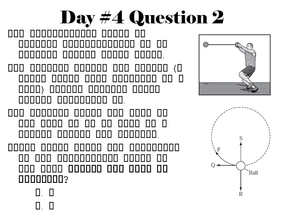 Day #4 Question 2