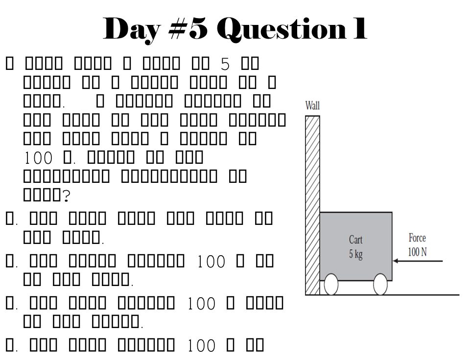Day #5 Question 1