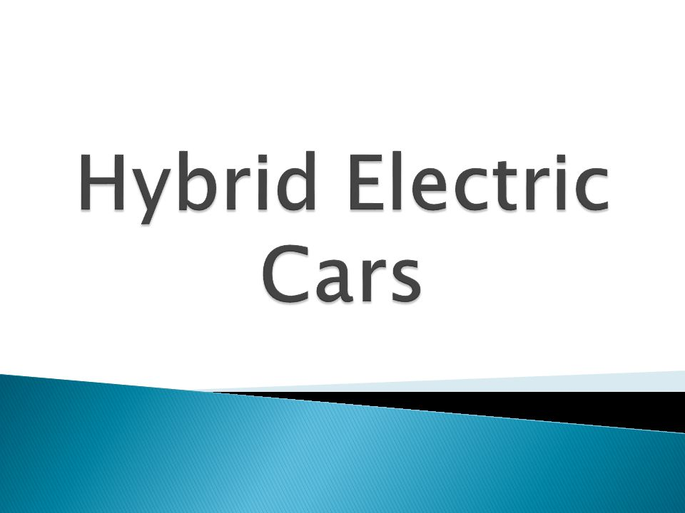 Hybrid Electric Cars