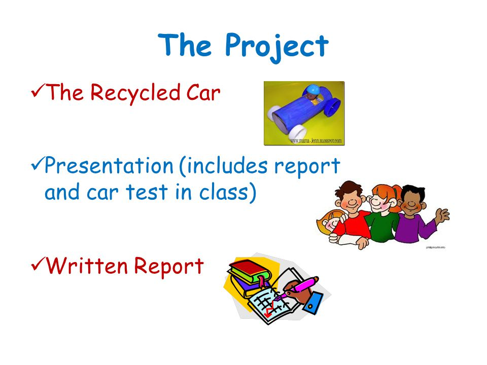 The Project The Recycled Car