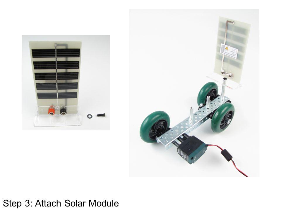 Step 3: Attach Solar Module