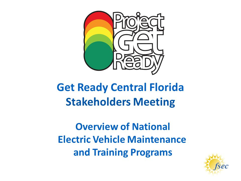Get Ready Central Florida Electric Vehicle Maintenance