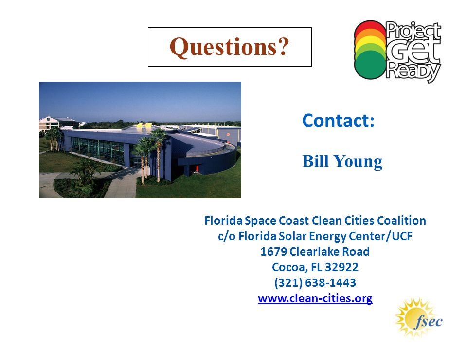 Questions Contact: Bill Young