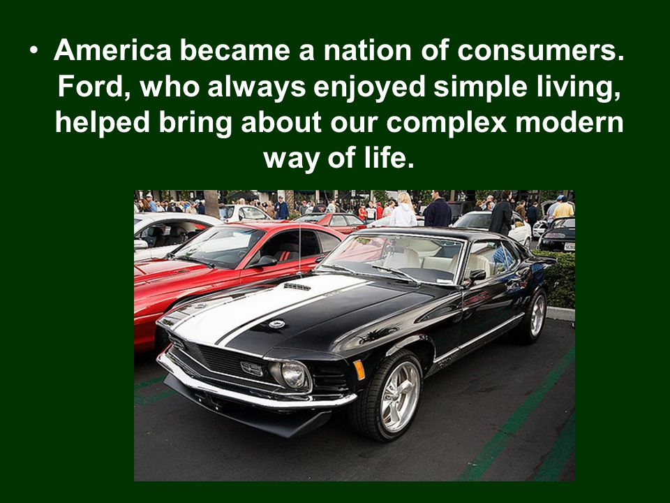 America became a nation of consumers