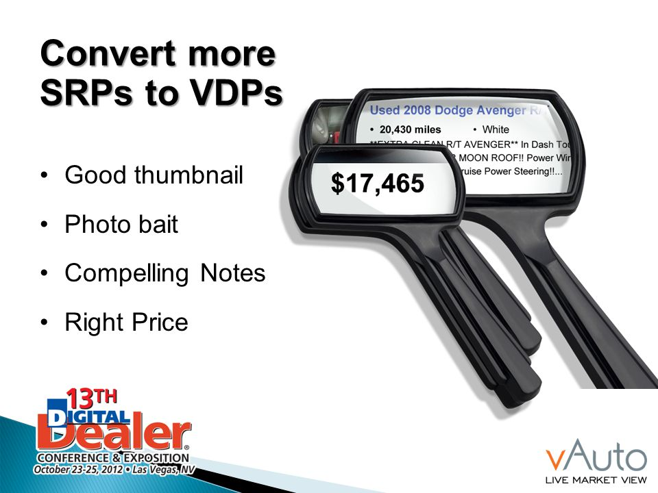 Convert more SRPs to VDPs