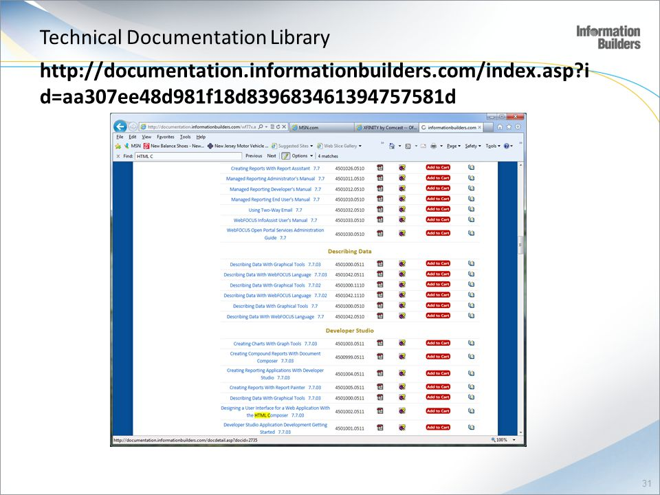 Technical Documentation Library