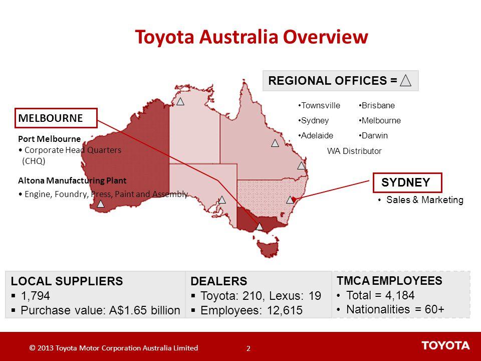 Toyota Australia Overview
