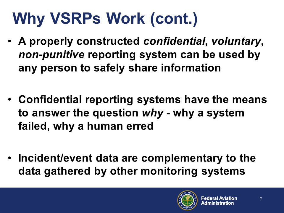 Why VSRPs Work (cont.)