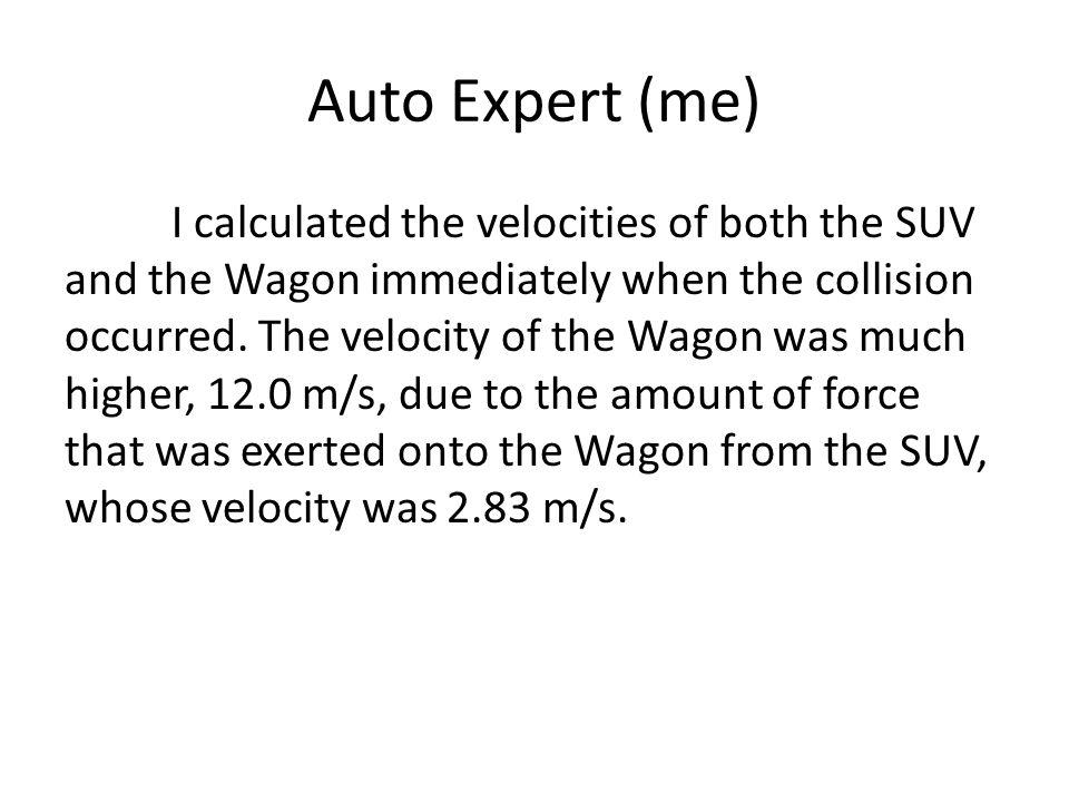 Auto Expert (me)