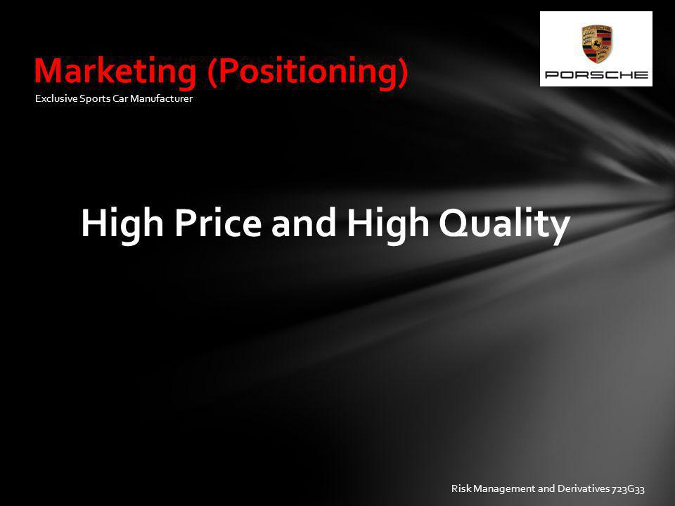 Marketing (Positioning)