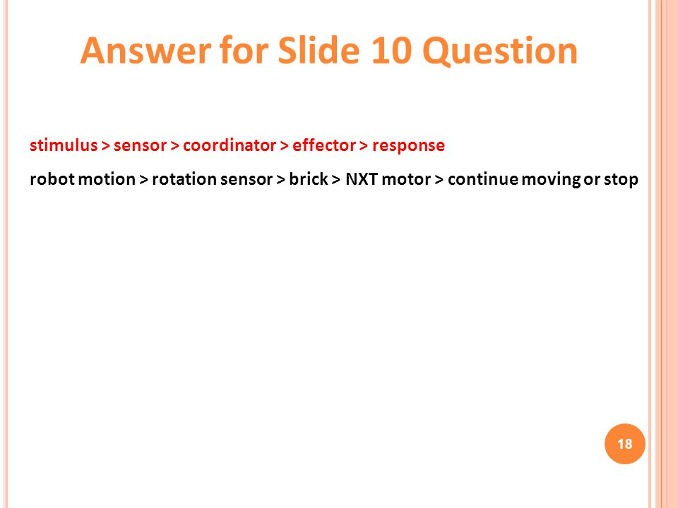 Answer for Slide 10 Question