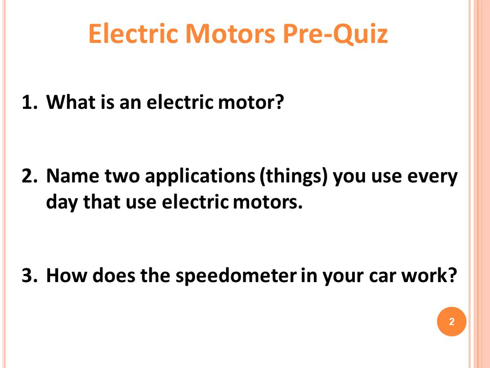 What Is An Electric Motor How Does A Rotation Sensor Work