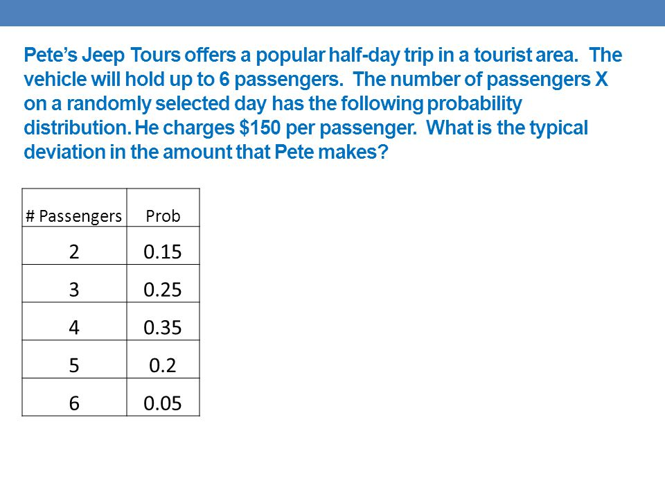 Pete's Jeep Tours offers a popular half-day trip in a tourist area