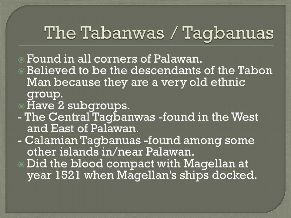 The Tabanwas / Tagbanuas