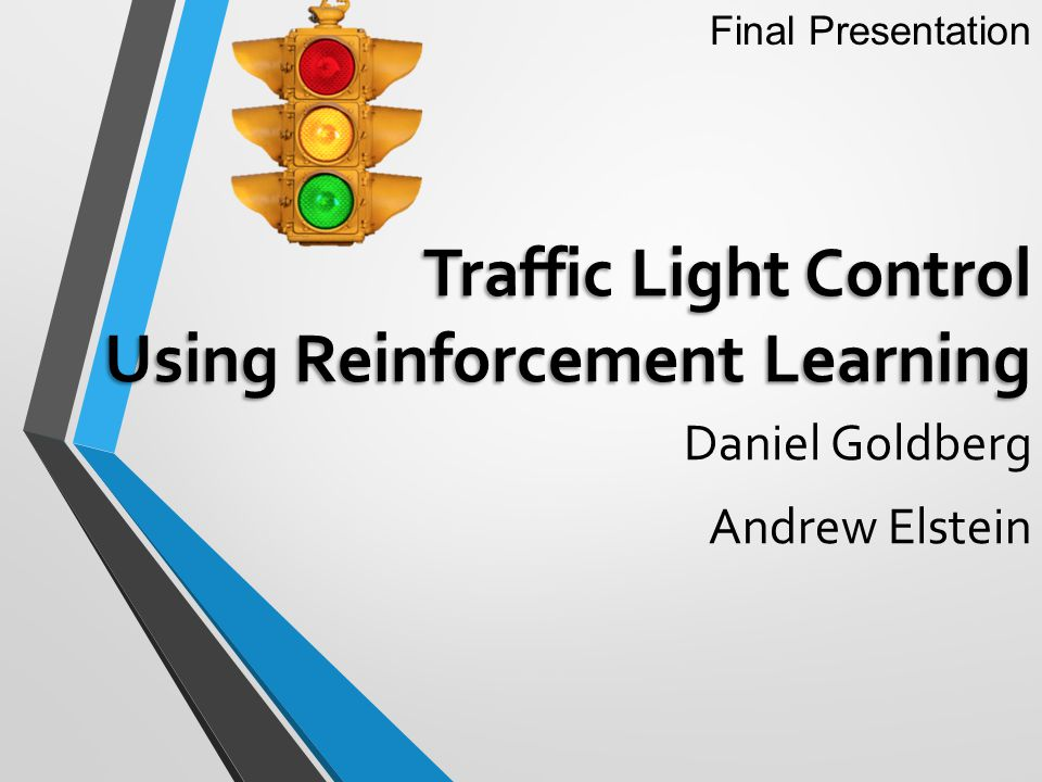 Traffic Light Control Using Reinforcement Learning