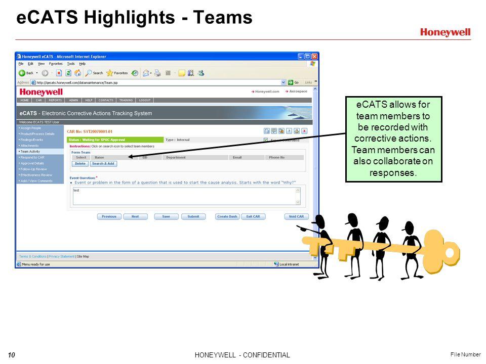 eCATS Highlights - Teams