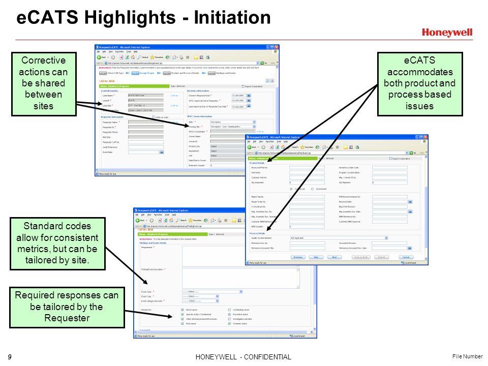 eCATS Highlights - Initiation