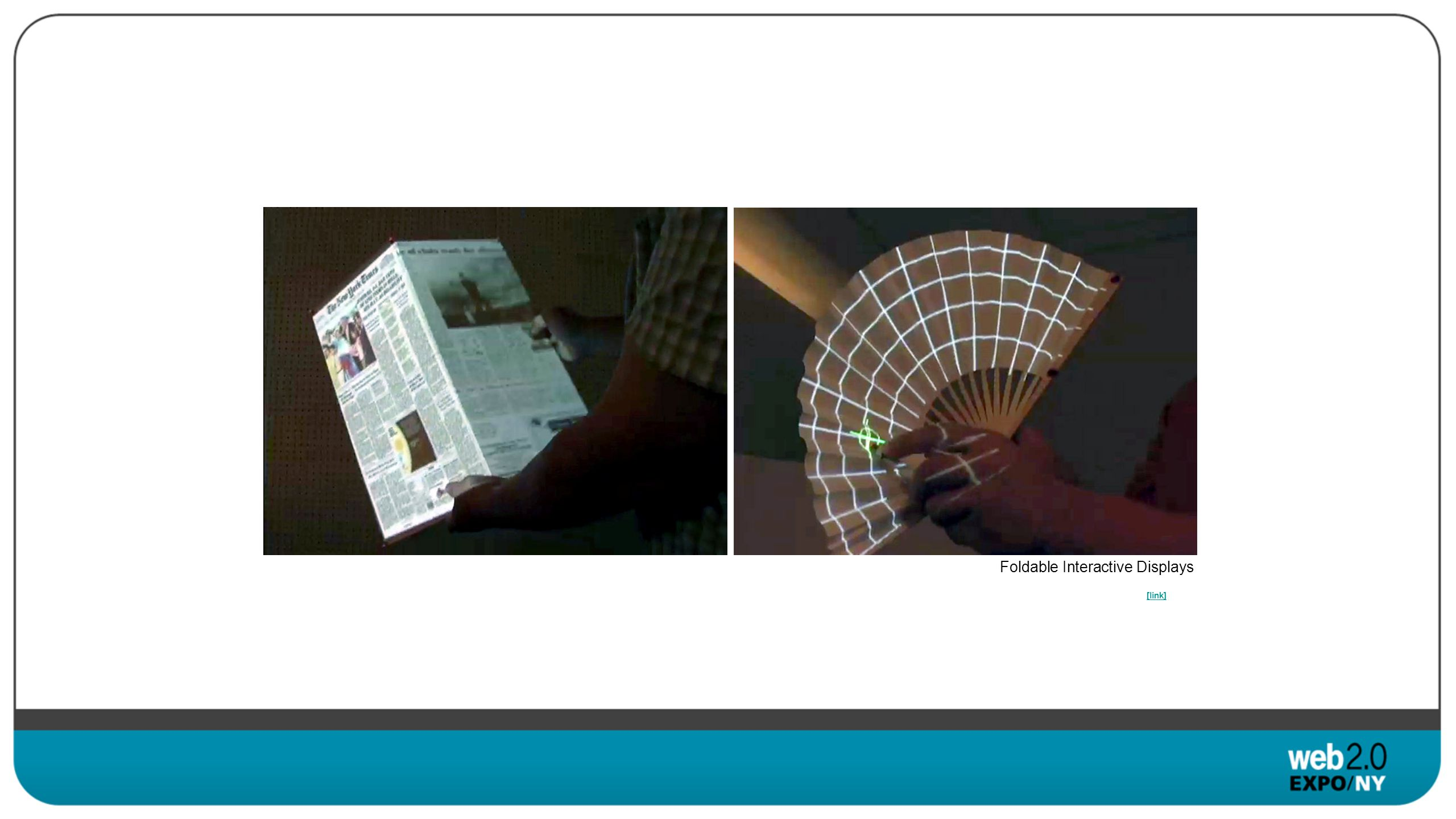 Foldable Interactive Displays
