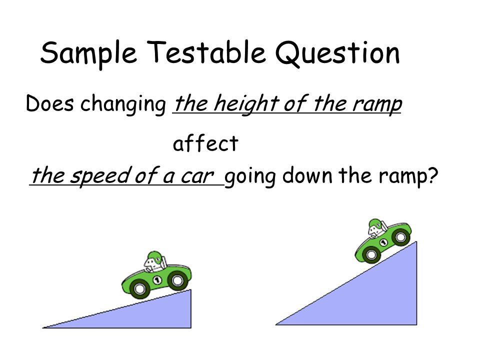 Sample Testable Question
