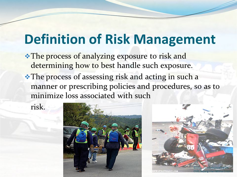 Definition of Risk Management