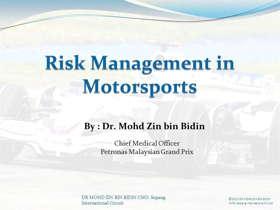 By : Dr. Mohd Zin bin Bidin