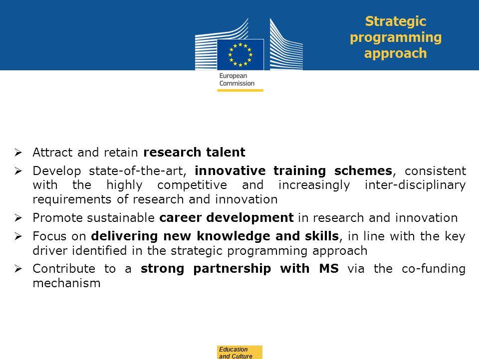 Strategic programming approach