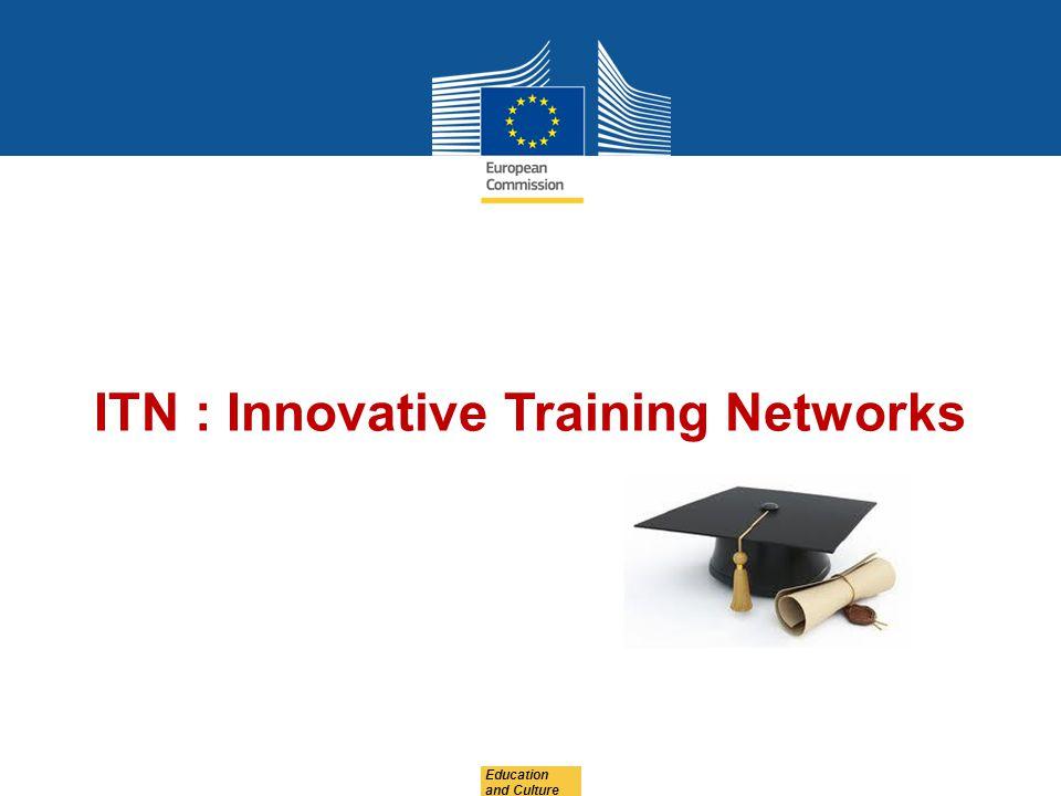 ITN : Innovative Training Networks