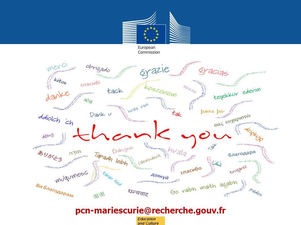 pcn-mariescurie@recherche.gouv.fr Education and Culture