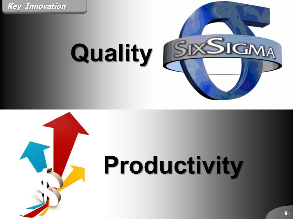 Key Innovation Quality Productivity