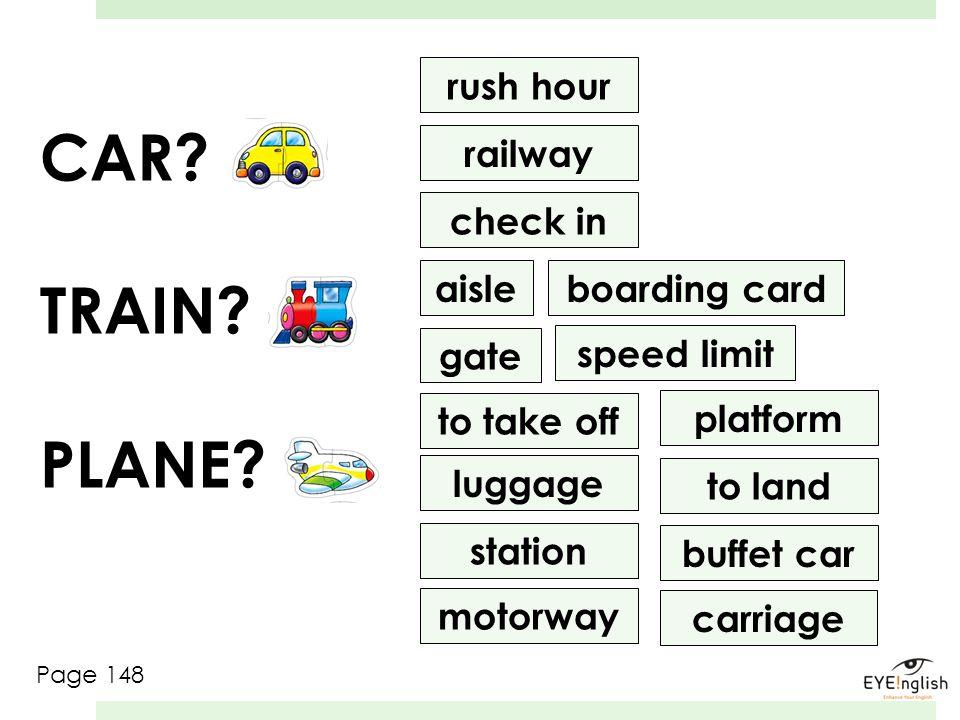 CAR TRAIN PLANE rush hour railway check in aisle boarding card gate